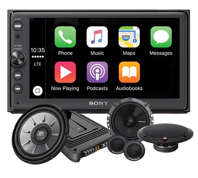 HB Autosound - Sony Package